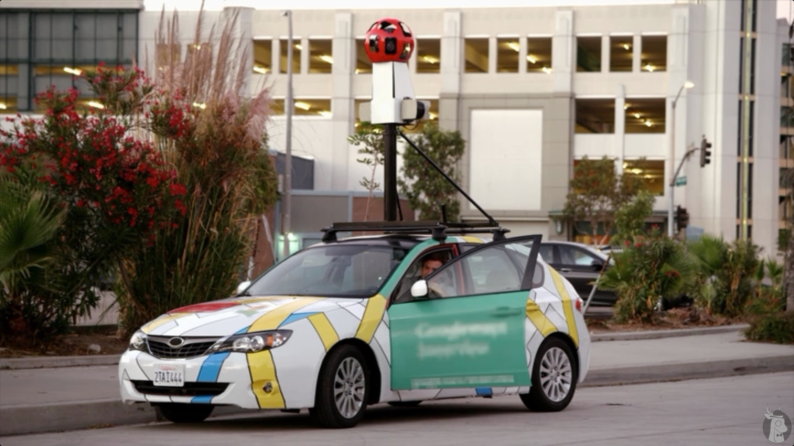 Google Maps Street View car on Arrested Development